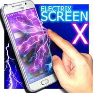 Electric screen X laser prank