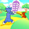 Tom Jump and Jerry Run