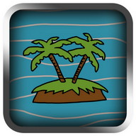 Treasure Island LCD Retro