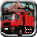 Truck Driver 3D - Drive different kinds of heavy vehicles, including a bulldozer