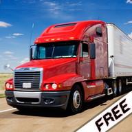 Truck simulator cargo-carrying
