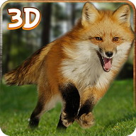 Wild Hungry Fox Attack Sim 3D