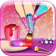 3D Nail Art Games for Girls