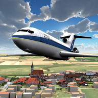 Airplane 3D flight simulator