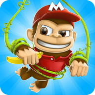 ลิงนักวิ่ง - เกมวิ่งฟรี