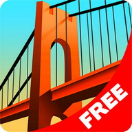 Bridge Constructor - Build bridges that withstand the weight of traffic