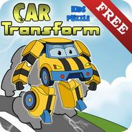 Bambini Puzzle - Car Transform