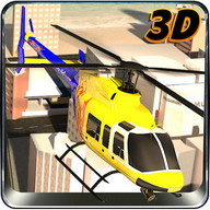 Ville Helicopter Flight Sim 3D