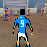 City Street Soccer - Play soccer with your friends on your local field