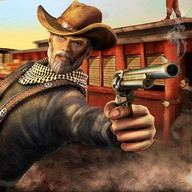 cinguettio cowboy occidentale 3D sheriff selvatico