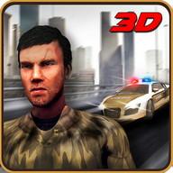 Crime City Polizei Jagd Fahrer