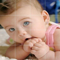 Cute Baby Fashion Puzzle .