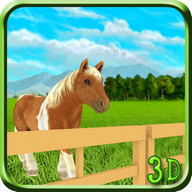 Cute Pony Horse Simulator 3D