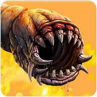 Death Worm Free - A cool game where you control a giant underground worm