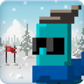 Dudeski - A simple and pixelated ski game
