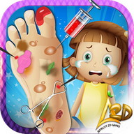 Crazy Foot Surgery Doctor