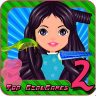 Hair salon hairdo 2 Kids Game