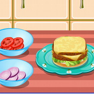 Hamburger Cooking Game