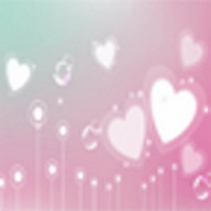 Lovely Heart Blloon funny game