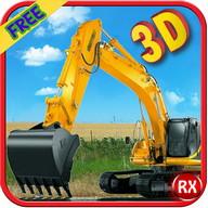 simulator excavator berat