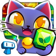 Magic Cats - Cute Kitty Match-3 Puzzle Free Game