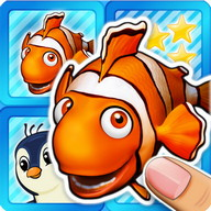 Card pairs puzzle ocean animal