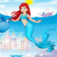 Mermaid Princess Girls Games