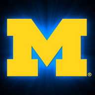 Michigan Wolverines Live Clock