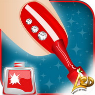 Nail Art Dress up Salon - Decorate your clients' nails in your beauty salon