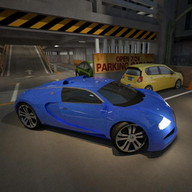 Night Garage Car Parking 3D