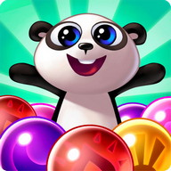 Panda Pop - Bubble Bobble starring a panda bear