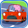 Peppa Pig Car Trip - Go on a trip with Peppa Pig