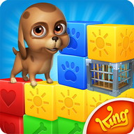 Pet Rescue Saga - Save the animals trapped on the blocks!