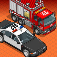 Police Car & Fire Truck Builder