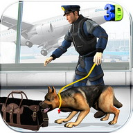 Police Dog Aeroporto Crime
