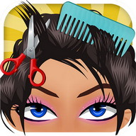 Princess Hair Spa Salon - A spa where you can do these pretty princesses' hair and make up