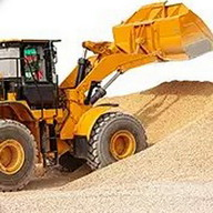 Tractor Sand Excavator Operate