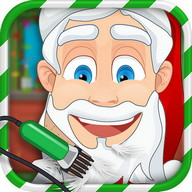 Christmas Shave Santa's Salon