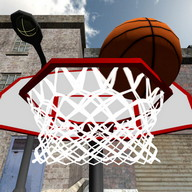 3D Basketball Toss Sharpshoot