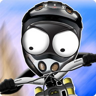 Stickman Downhill - Exciting downhill racing on a two-dimensional bike