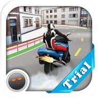 Abecedarian Biker 3D Trial