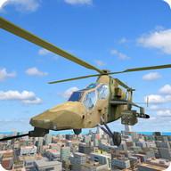 Armée 3D Marine Helicopter Sim