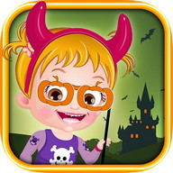 baby-hazel-halloween-castle
