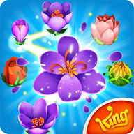 Blossom Blast Saga - Make the buds blossom with a little bee