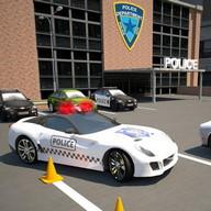 Otopark 3D: Polis Otomobil