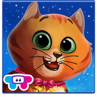 Kitty Cat Pet Dress Up & Care