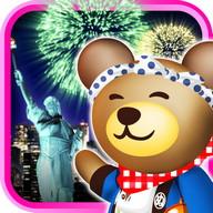 クマの花火パズル![登録不要の打上花火&パズルゲーム!] Fireworks!