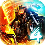 Death Moto 4 - More motorcycle races full of weapons and explosions