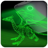 Dragon hologram laser camera