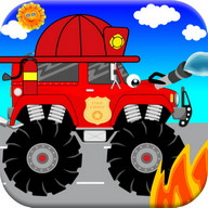 Fire Trucks Games For Kids